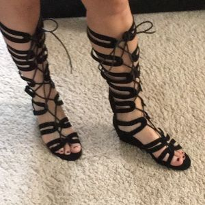 Gladiator Flats (black)